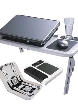 Подставка столик для ноутбука с охлаждением