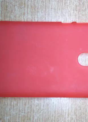 Чехол силикон для Xiaomi Redmi Note 4x