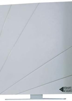 Комнатная эфирная ТВ антенна с усилителем Квант-Эфир ARU-01 Wh...