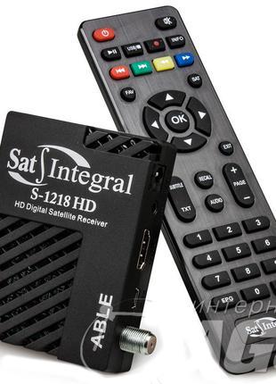 Цифровой спутниковый ТВ тюнер Sat-Integral S-1218 HD Able (DVB...
