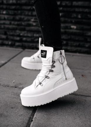 Ботинки женские 🌕 puma x fenty by rihanna sneaker boot