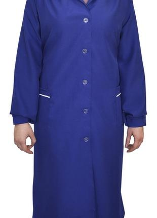Халат с габардина, модельный халат, униформа женская