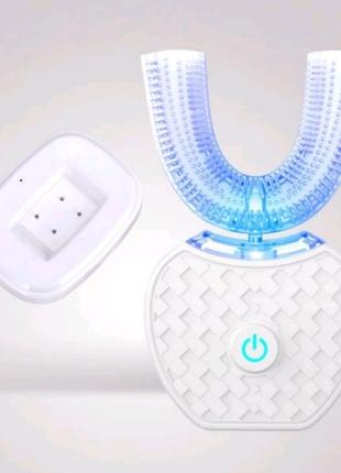 Умная ультразвуковая электрическая зубная щетка