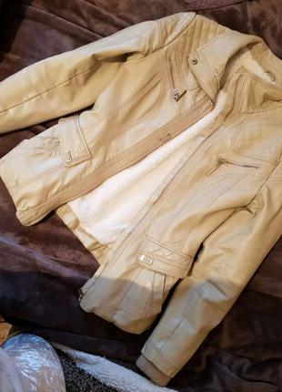 Куртка тепла на підкладці  XS-S