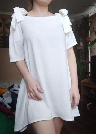 Платье - туника свободного кроя