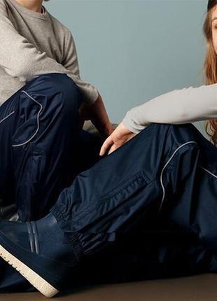 Непромокаемые  дождевые брюки штаны  мембрана 3000  tchibo чиб...