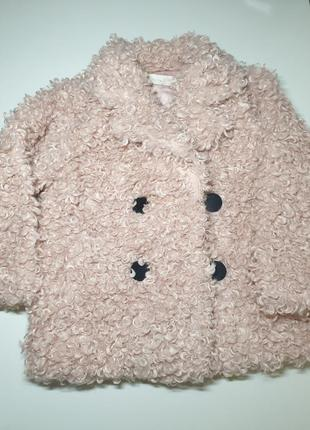 Пальто-шубка для девочки