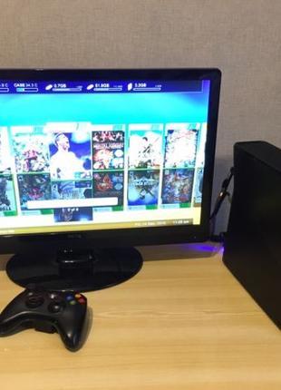 Игровая приставка Xbox 360 S (Slim) 250GB freeboot фрибут Xbox360