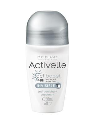 Activelle шариковый дезодорант-антиперспирант без белых следов
