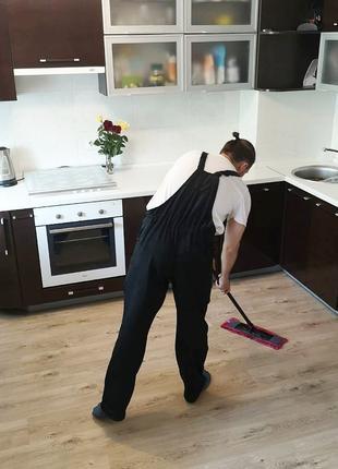 Уборка Квартир и Домов. Компания:Clean.Work