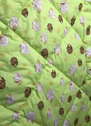 Одеяло детское в коляску 75 на 105 см