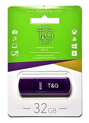 Флешка usb flash 32GB T&G 011 Classic series Purple