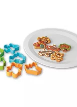 Формочки, формы фигурные для печенья 12 штук