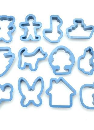 Формочки для выпечки печенья 12 штук