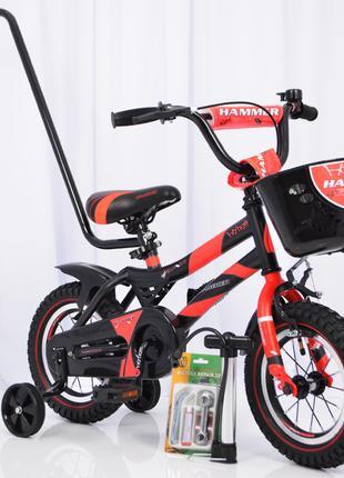 Детский велосипед HAMMER S500 12″ (Красный)