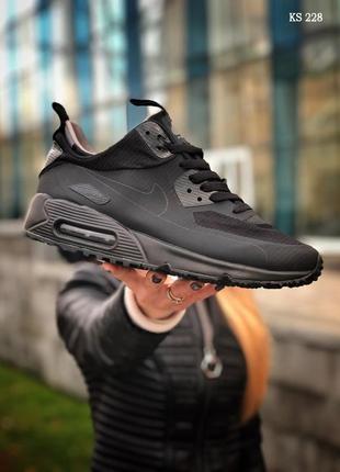 Nike air max 90 ultra midкроссовки найк кросівки чоловічі