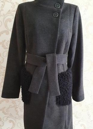 Пальто с итальянского кашемира