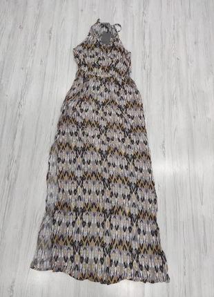 👑♥️final sale 2019 ♥️👑  вискозное длинное платье с принтом