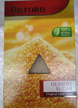 Сахар тростниковый Milford 500г нерафинированный коричневый Ге...