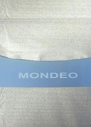 Накладка на бампер Ford Mondeo IV combi 2007-2011