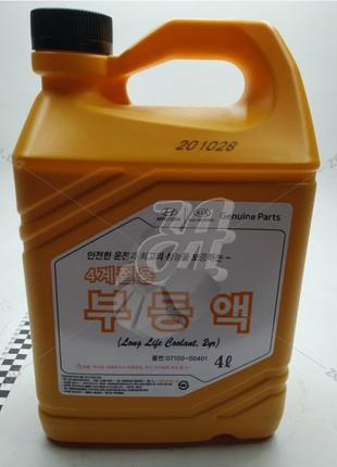 Антифриз-концентрат Mobis Hyundai/ Kia Long Life Coolant 4л кр...