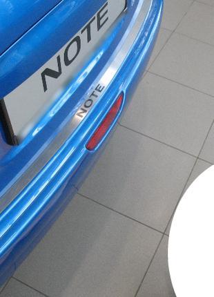 Накладка на бампер Nissan Note 2005-