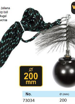 Набор для чистки дымоходов Польша шнур Ø=6 мм l=10 м ерш Ø=200...