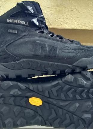 Зимние водонепроницаемые ботинки кроссовки merrell annex trak ...