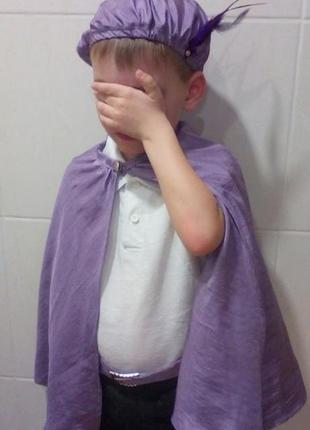 Карнавальный новогодний костюм детский принц,паж на 3-6 лет