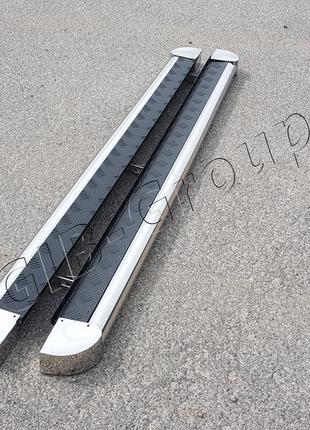 """Пороги боковые труба с листом серия """"ELIT"""" Suzuki Grand Vitara..."""