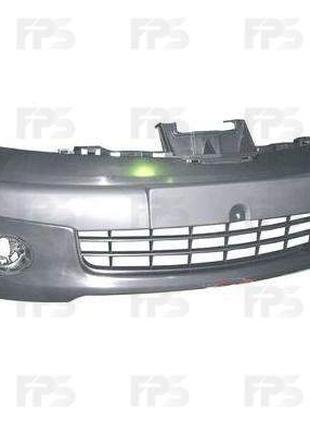 Передний бампер Nissan Note 06-09 (FPS)