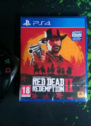 Red Dead Redemption 2 (рус) PS4, новый!