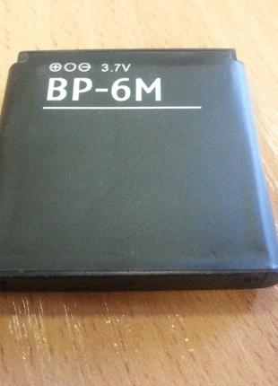 Аккумуляторная батарея Nokia BP-6M копия