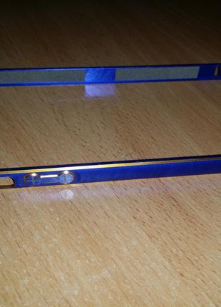 Оригинальный защитный металлический бампер для iphone 5/5s/SE