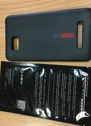 Силиконовый чехол для HTC ONE SU T528W + Защ. Пленка
