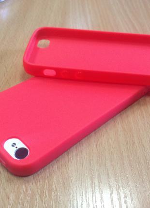 Оригинальный силиконовый чехол iPhone 5/5s