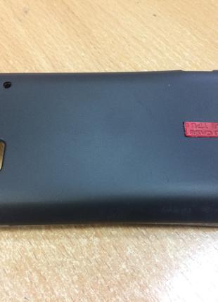 Силиконовый чехол HTC G20/S510b/Rhyme (черный)