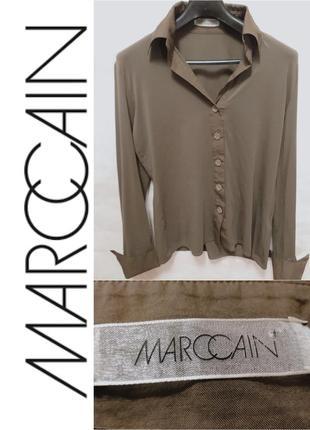 Marc cain рубашка стреч 5