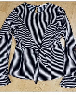 Блуза zara в полоску