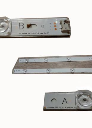 """Комплект LED подсветки LCD 42"""" LG Innotek DRT 3.0, 400мм (A) +..."""