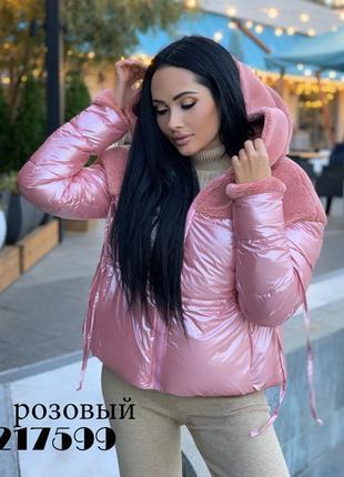 Стильная женская куртка-зима