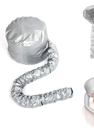 Термо-колпак для сушки волос феном Bonnet сушуар домашний