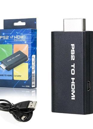 Конвертер PS2-HDMI G300 для Sony PlayStation 2 видео аудио ада...