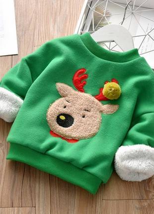 Кофта детская утепленная CR deer