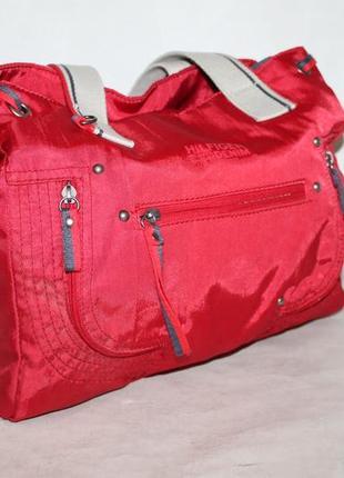 Вместительная текстильная сумка от tommy hilfiger