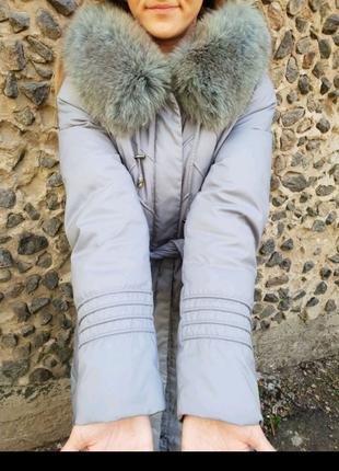 Довге пальто куртка