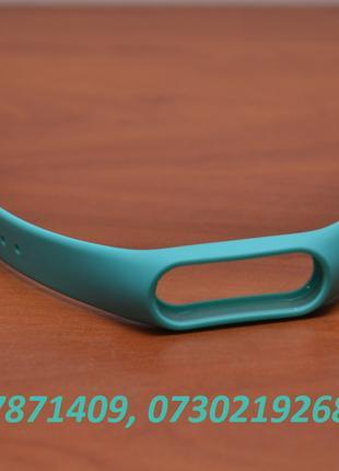 Бирюзовый (мятный) ремешок для фитнес трекера Xiaomi Mi Band 2