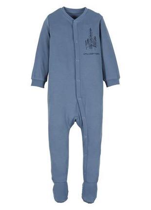 Хлопковый слип, человечек 74, 8-9 мес lupilu, германия, пижама...