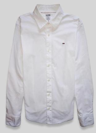 Рубашка tommy hilfiger оригинал очень красиво смотрится на теле