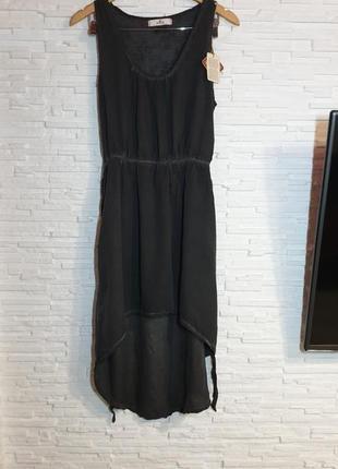 Легкое асимметричное платье replay